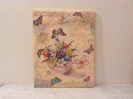 Russian Artist Handmade Vintage Decorative Canvas  Spring Flowers L Mironova