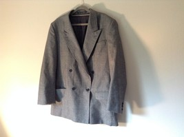 Sabre London Gray Suit Jacket Made In England 100 Percent Wool No Size Tag