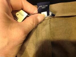 Ann Taylor stretch dress pants  size 12 tan brown image 3