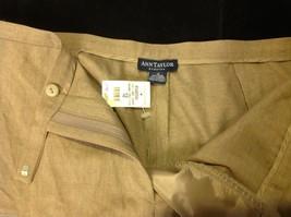 Ann Taylor stretch dress pants  size 12 tan brown image 5