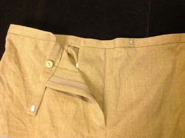Ann Taylor stretch dress pants  size 12 tan brown image 6