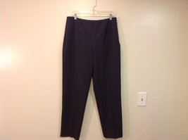 Saks Fifth Avenue label size 14 gray dress pants image 1