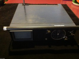Samsung miniature car auto TV unit with cords for travel for parts or repair