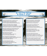 Ms. Fate & The Tightrope - Printable Poetry Instant Download - $1.98