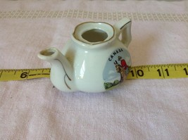 Miniature Teapot with Lid Canada RCMP Decorative Item White image 2