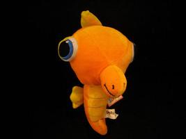 Miscellaneous Turquoise and Orange Plush Toys image 5