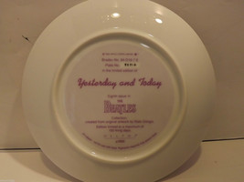 Mint Delphi Beatles Plate Yesterday and Today Eigth  Issue in the collection image 5