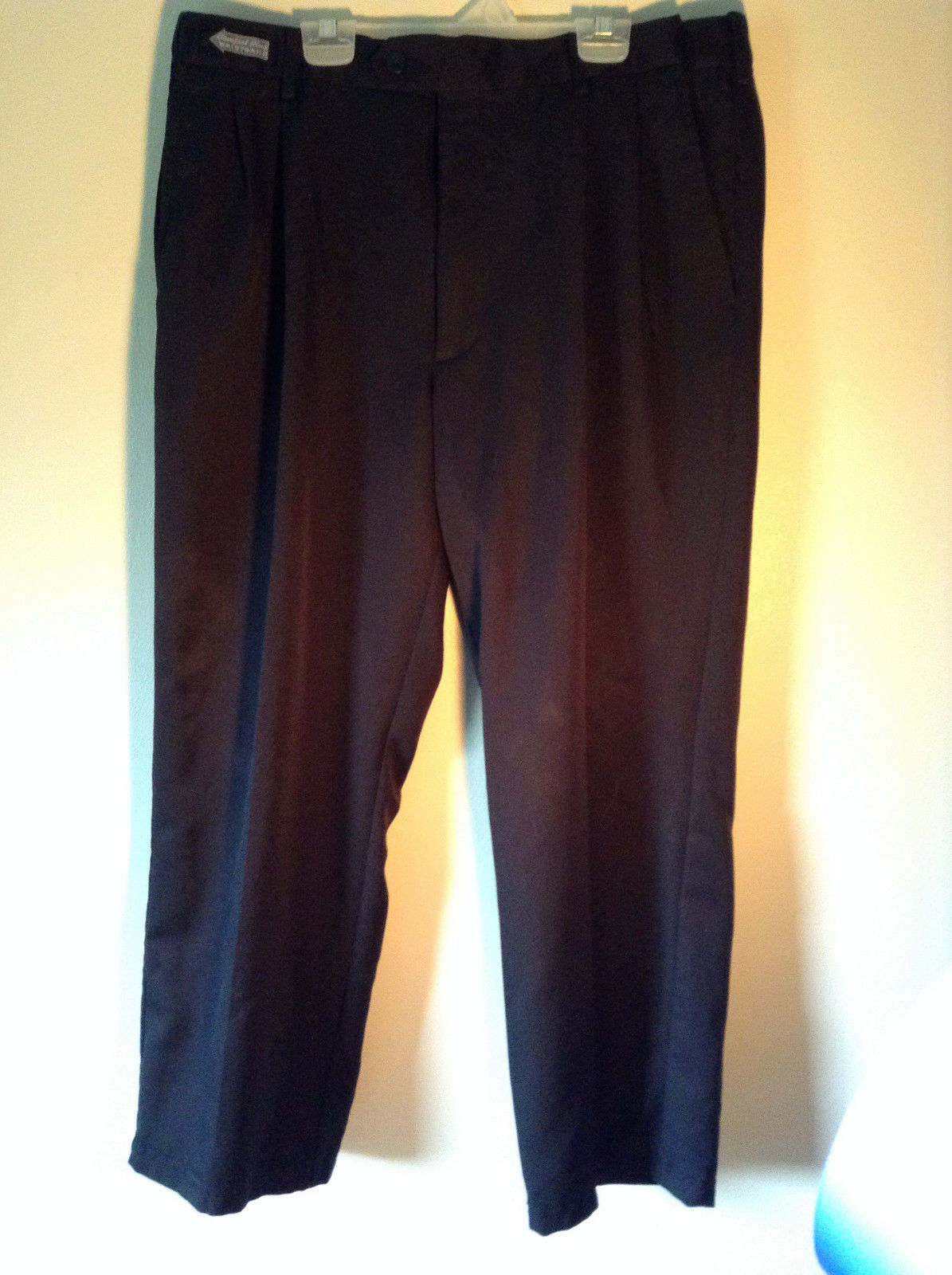 Savane Black Dress Pants  Comfort Plus Waistband Size 36W by 29L