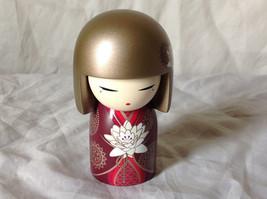 Satoko Sincerity Gold Hair Maroon Dress Flower Kimmi Maxi Doll Asian Style