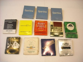 Set of 12 matchbooks from NYC Bars and Restaurants image 1