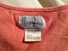 Moondance Pink Tank Top Wide Neckline Shirt Size Large image 5