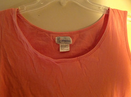 Moondance Pink Tank Top Wide Neckline Shirt Size Large image 3