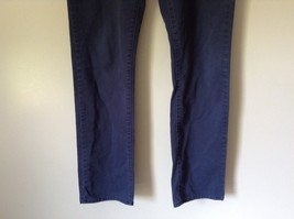 Mossimo Supply Company Blue Pants 100 Percent Cotton Size W34 x L34 image 3