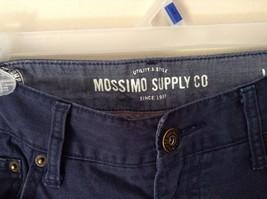Mossimo Supply Company Blue Pants 100 Percent Cotton Size W34 x L34 image 4