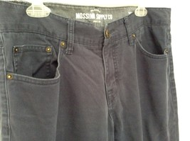 Mossimo Supply Company Blue Pants 100 Percent Cotton Size W34 x L34 image 5