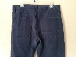 Mossimo Supply Company Blue Pants 100 Percent Cotton Size W34 x L34 image 6
