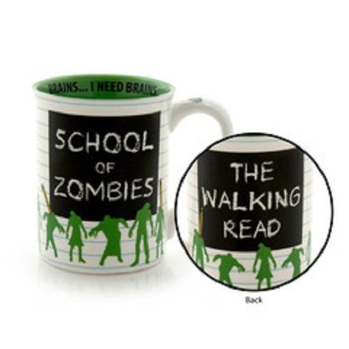 School of Zombies I Need Brains Walking Read High School College graduate gift