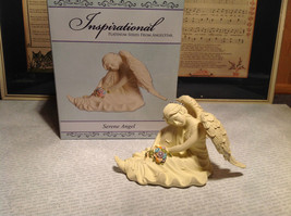 Serene Angel by Angel Star Resin Angel Figurine New in Box - $39.99