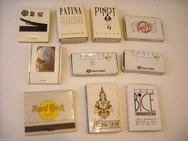 Set of 10 Boxes and Books of Matches from Around the World