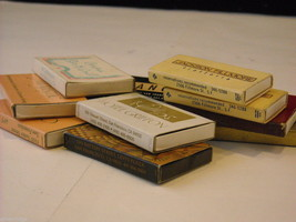 Set of 10 matchbooks from San Francisco