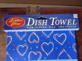 My Fantasy is to have 2 man at once  Dish Towel Fiddlers Elbow Silk Printed image 3