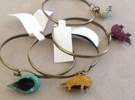 NEW bangle bracelet w Hedgehog Charm choice of color USA made image 2