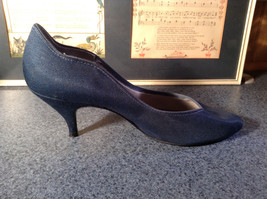 Nadine Blue High Heel Shoes Size 8.5 Excellent Condition See Pictures image 4