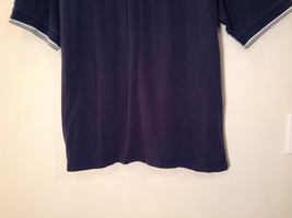 NY Yankees Dark Blue w Gray Trim Lee Sport 100 Percent Cotton Polo Shirt Size XL image 4