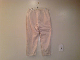 Natural White 100 Percent Cotton Size 30 Capri Pants For All Curious Americans image 2