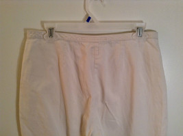 Natural White 100 Percent Cotton Size 30 Capri Pants For All Curious Americans image 6