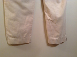 Natural White 100 Percent Cotton Size 30 Capri Pants For All Curious Americans image 8