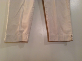 Natural White 100 Percent Cotton Size 30 Capri Pants For All Curious Americans image 5