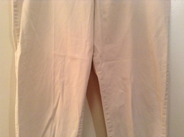 Natural White 100 Percent Cotton Size 30 Capri Pants For All Curious Americans image 4