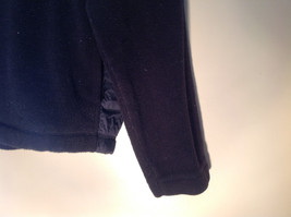 Nautica Black Long Sleeve Hoodie Two Front Pockets Jeans Co Logo on Front Size M image 3
