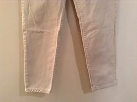 Natural White 100 Percent Cotton FRESNO Jeans Size 8 Average High Waist image 3