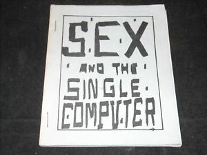 Sex and the Single Computer 1969 Comic Booklet