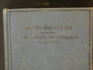 She Stoops to Conquer Goldsmith 1926 illustrated