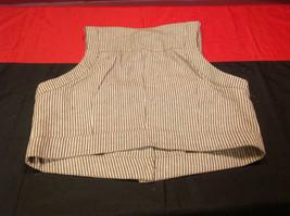 Pretty Larry Levine Ladies Brown Cream Colored Vest Size Large image 8
