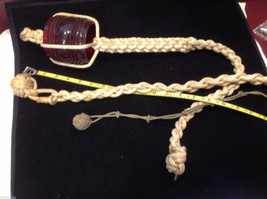 Nautical lines knots & monkey knots and red running glass light cover collection image 2