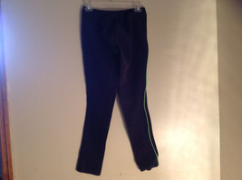 Navy with Lime Green Side Lines Riding Pants Dublins Skinny Leg Size Large image 6