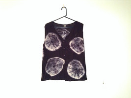 Shop Therapy One Size Fits Most Black Sleeveless Top Web Designs Front and Back