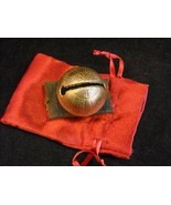 Shiny No 4 Brass Sleigh Bell engraved - $49.49