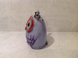 New Piggy Bank Owl with Big Glasses and Cylinder Hat, Blue Violet image 4