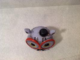 New Piggy Bank Owl with Big Glasses and Cylinder Hat, Blue Violet image 5