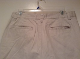 New York and Company NY Khakis 100% Cotton Light Tan Casual Shorts Size 12 image 4