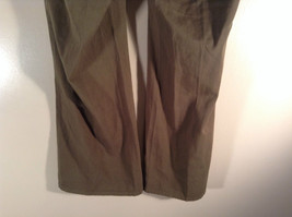 Newport News Easy Style 100 Percent Cotton Size 12 Olive Colored Pants image 7