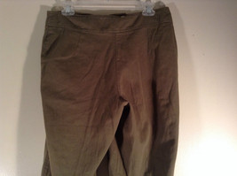 Newport News Easy Style 100 Percent Cotton Size 12 Olive Colored Pants image 8
