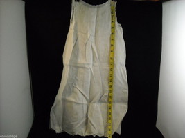 Antique Baby Dress Gown Sheer Linen 1900s Vintage Edwardian image 2