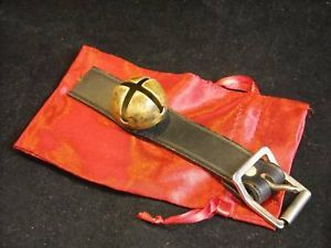 Single small vintage sleigh bell unnumbered in gift bag