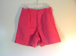 Size 10 Bright Pink Liz Claiborne Liz Sport 100 Percent Cotton Shorts - $31.18